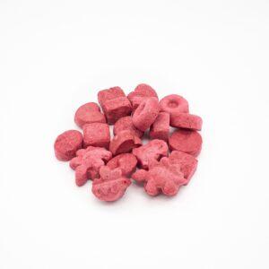 chrupki liofilizowane truskawka